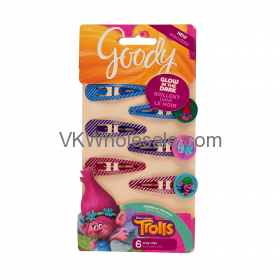 Trolls Glow In The Dark Contour Clips Wholesale