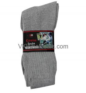 Crew Socks Gray Wholesale
