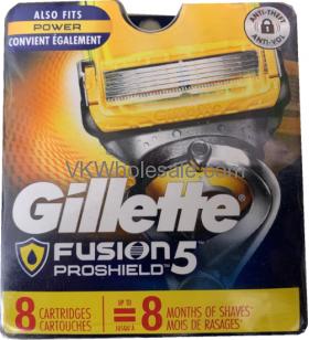 Gillette Fusion 5 Proshield Cartridges Wholesale
