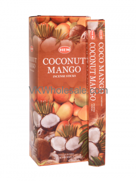 Wholesale HEM Coconut Mango Incense Sticks