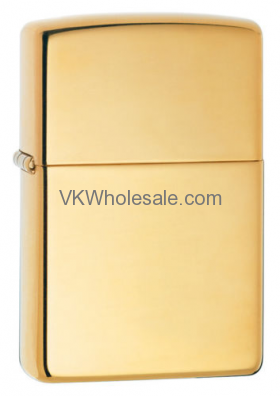 Zippo Windproof High Polished Brass Lighter 254B Wholesale