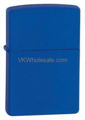 Zippo Royal Blue Matte Lighter 229 Wholesale