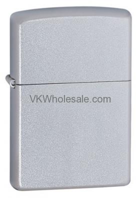Zippo Windproof Satin Finish Chrome Lighter Wholesale