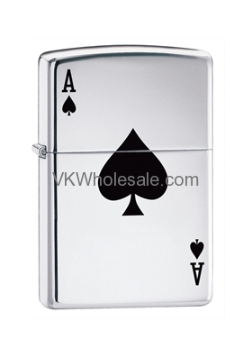 Zippo Lucky Ace Lighters Wholesale