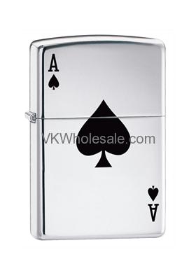 Zippo Lucky Ace Lighters Wholesale