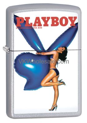 Zippo Classic Playboy July 1977 Satin Chrome Z334 Wholesale