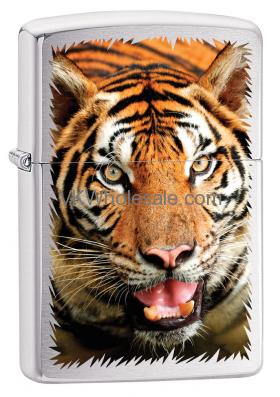 Zippo Classic Tiger Brushed Chrome Z339 Wholesale