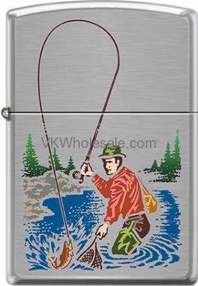 Zippo Classic Fisherman Windproof Lighter Z2033 Wholesale