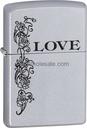 Zippo Classic Love Inspiration Satin Chrome Z250