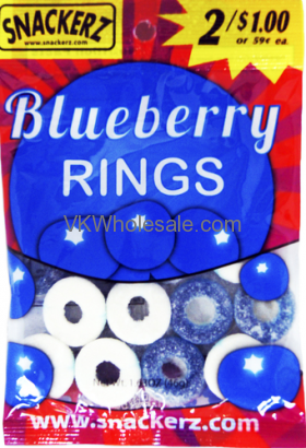 Snackerz Blueberry Rings 2 for $1 Candy WholesaleSnackerz Blueberry Rings 2 for $1 Candy Wholesale