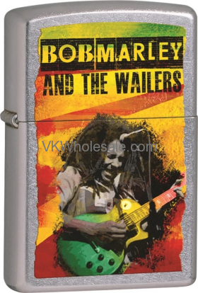 Zippo Classic Bob Marley and The Wailers Street Chrome Z232