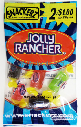 Snackerz Jolly Rancher 2 for $1 Candy Wholesale