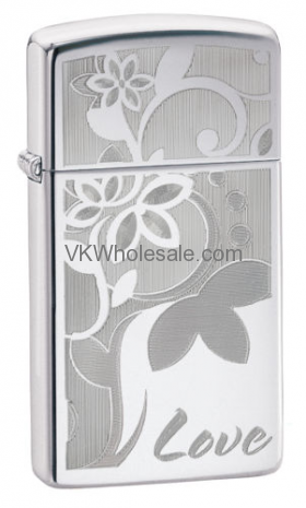 Zippo Love and Flower Lighter Wholesale