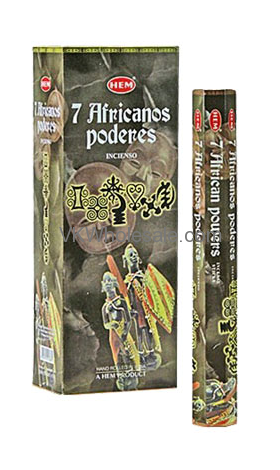 7 African Powers Hem Incense Wholesale