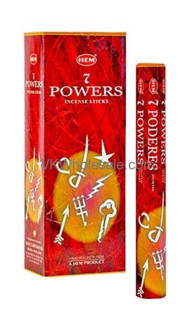 7 Powers Hem Incense Wholesale