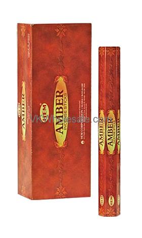 Amber Hem Incense Wholesale