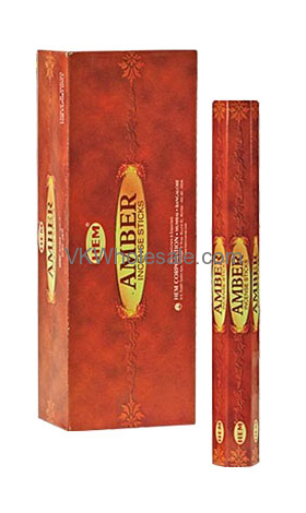Amber Hem Incense Wholesale