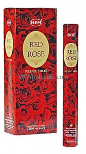 Red Rose Hem Incense Wholesale
