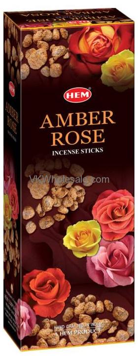 Amber Rose Hem Incense Wholesale
