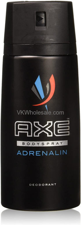 Wholesale AXE Deodorant Spray Adrenaline 6 pk