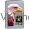 ZIPPO CLASSIC US Army Flag Street Chrome Windproof Lighter