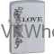 Zippo Classic Love Inspiration Satin Chrome Z250