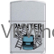 Zippo Classic Painter Satin Chrome Windproof Lighter Z280 Wholesale