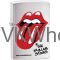 Zippo Classic The Rolling Stones Brushed Chrome Windproof Lighter Z337