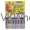 Sakura Cray-Pas Junior Artist Color 12-Piece Oil Pastel Set Art Draw