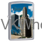 Zippo Classic Chicago Brushed Chrome Z101 Windproof Lighter Wholesale
