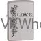 Zippo Classic Love Inspiration Satin Chrome Z250 Wholesale