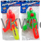 "11"" WATER GUN IN POLY BAG W/ HEADER 3 ASSRT COLORS Wholesale"
