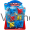 """6PC 2.75"""" AIR COMAND MINI JETS SET, IN BLISTER CARD Wholesale"""