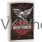 Zippo Classic Harley Davidson Eagle Brushed Chrome Z240 Lighter Wholesale