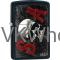 Zippo Classic Sons Of Anarchy Skull Black Matte Z116 Windproof Flint Lighter Wholesale