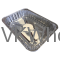 Value Key® Aluminum Half Size Containers Wholesale